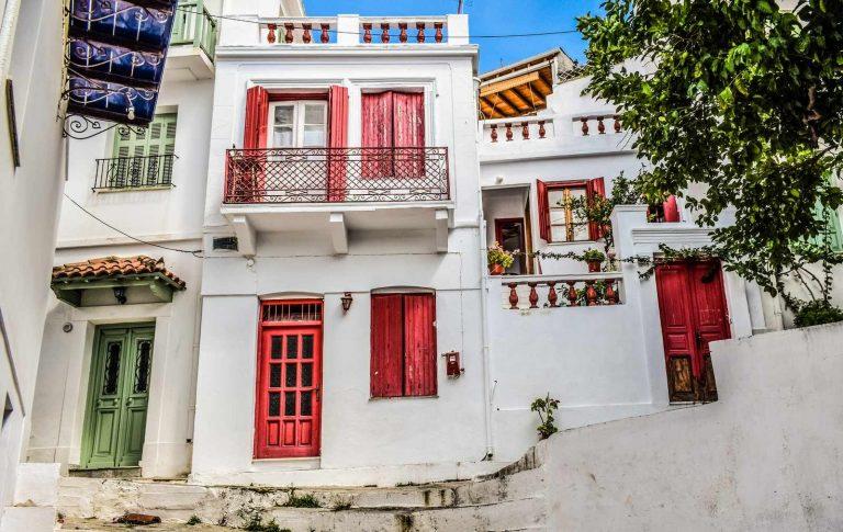 Skopelos Architecture