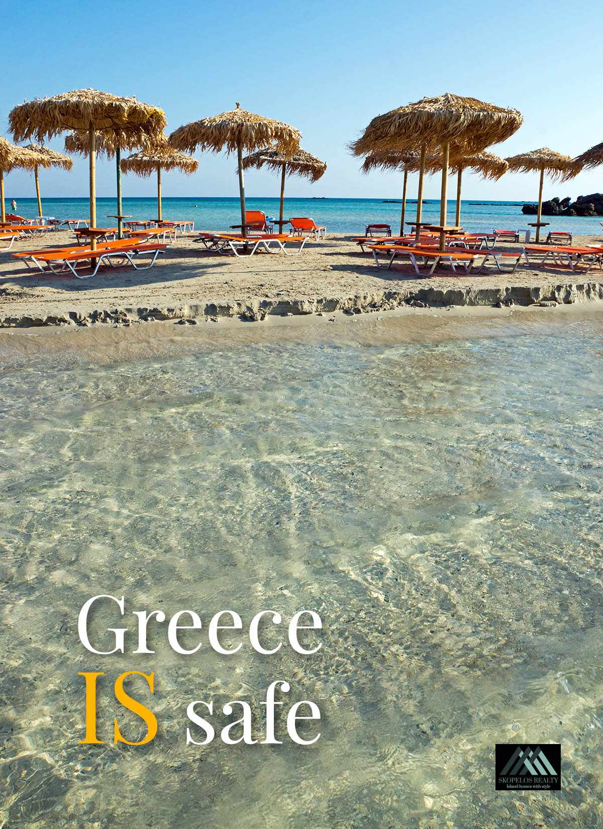 Travel to Greece, it is safe