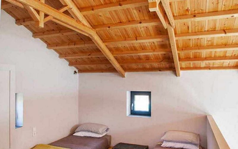 Complex of cottages with best views to the Aegean Sea Two singles bedroom