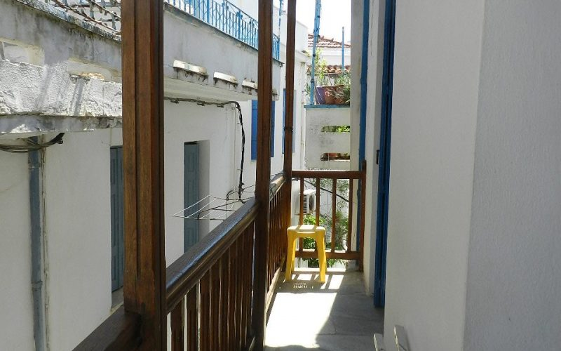 Town House close to Skopelos Town's waterfront Balcony
