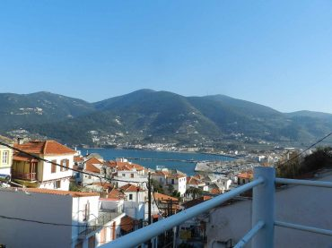 Skopelos Town House with views