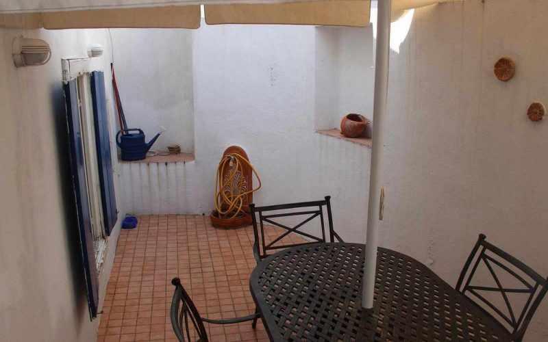 Cozy property with yard in Skopelos Town Yard
