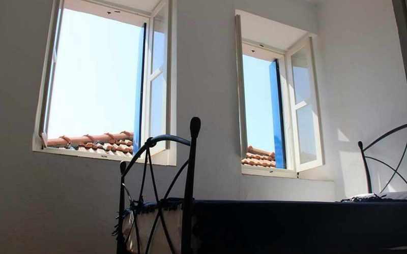 Cozy property with yard in Skopelos Town Bedroom