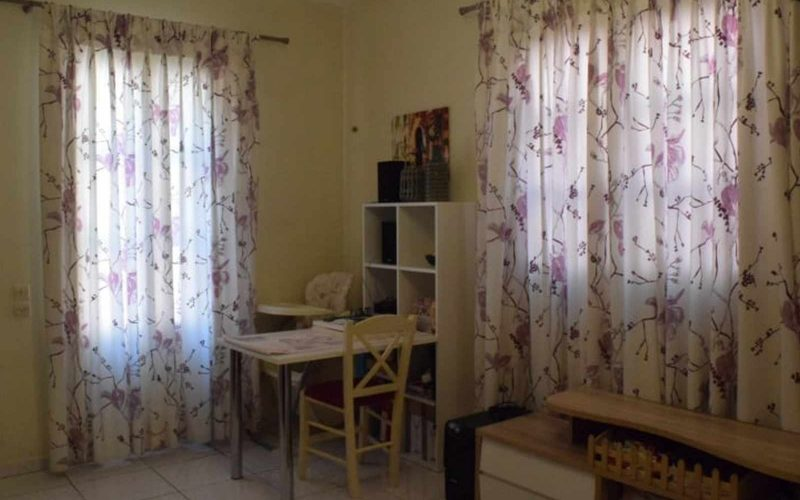 Skopelos Town House with terrace with views and spacious yard Bedroom