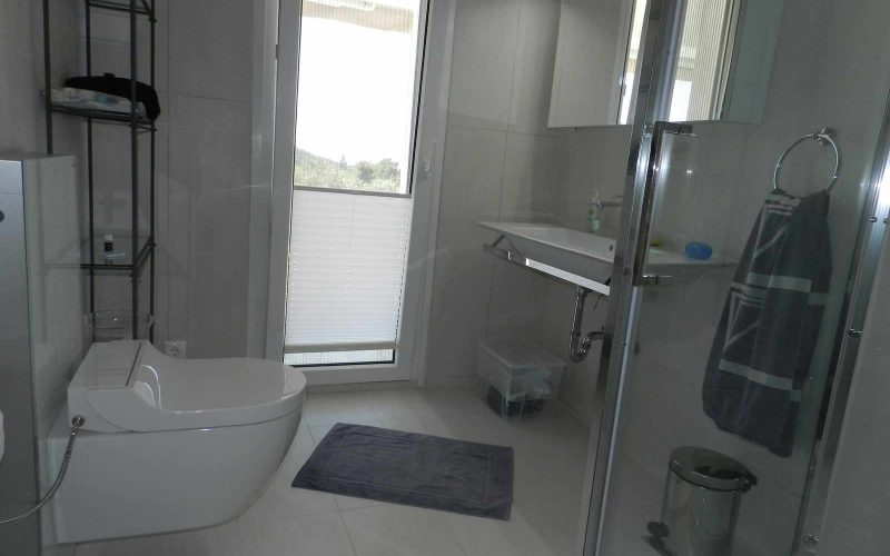 Architect designed Villa in the countryside of Skopelos Island Bathroom