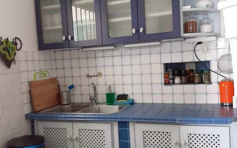 Beachfront Villa for sale on Skopelos Island The kitchen