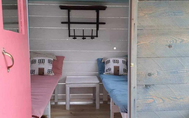 Beachfront Villa for sale on Skopelos Island The children wooden house