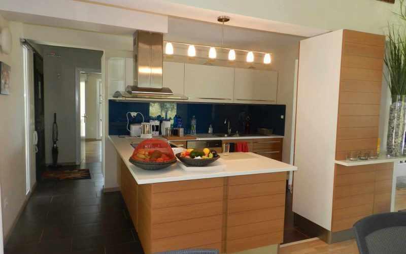 Architect designed Villa in the countryside of Skopelos Island Kitchen