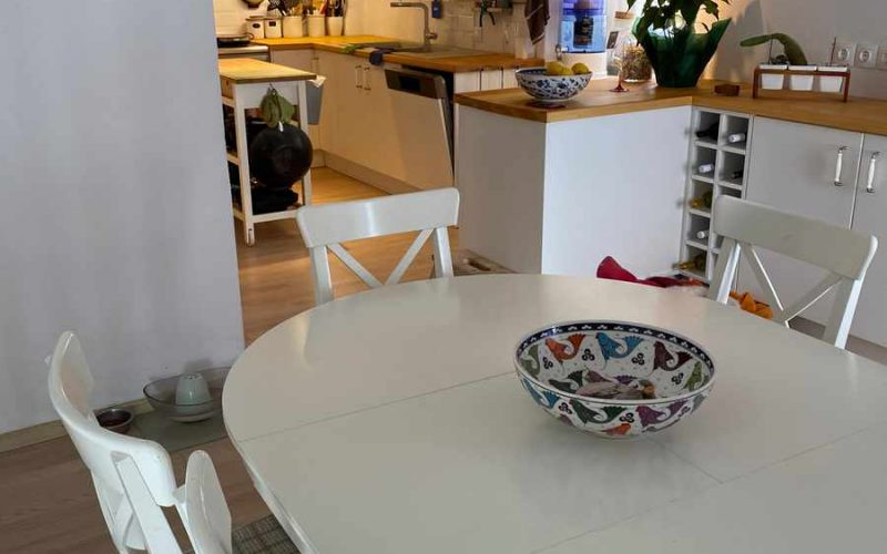 Traditional Renovated property inside Skopelos Town Kitchen Dining room