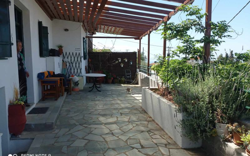 Nice property with lovely views in Old Klima village Terrace