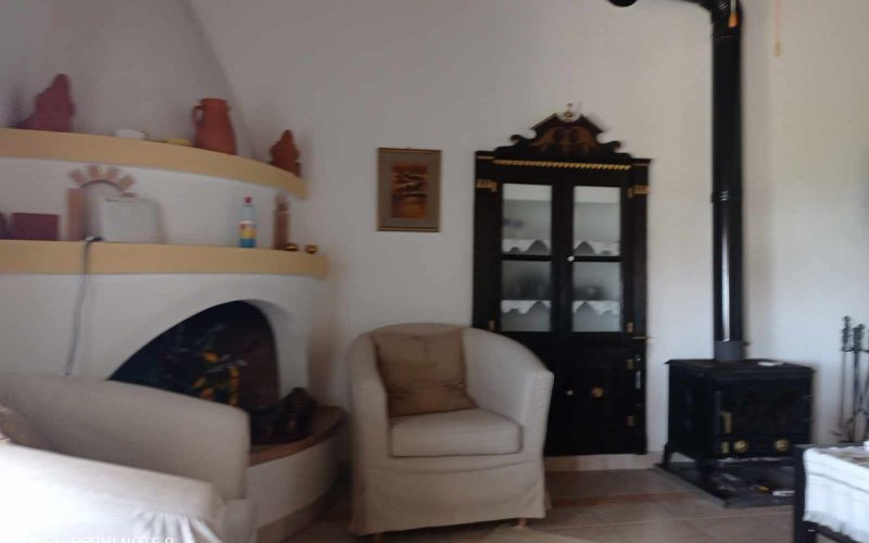 Nice property with lovely views in Old Klima village Living room