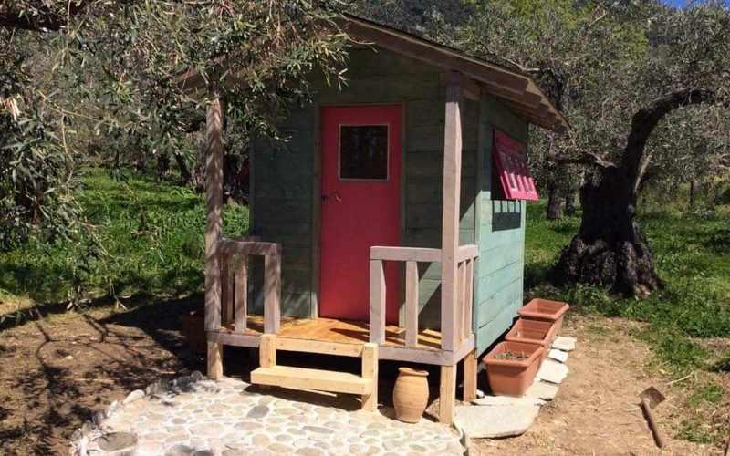 Beach front Villa for sale on Skopelos Island - Childern wooden house