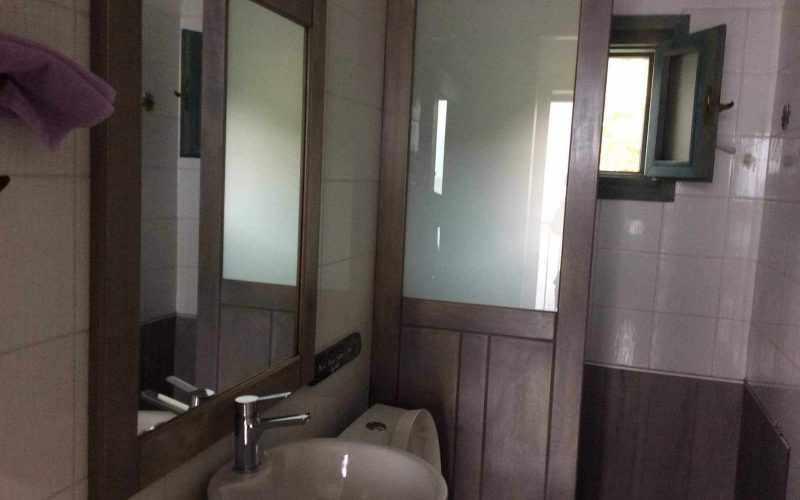 Beachfront Villa for sale on Skopelos Island The bathroom