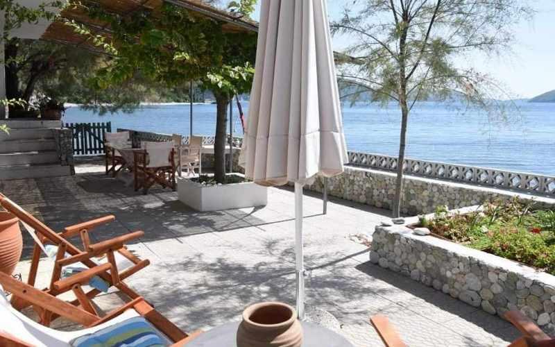 Beachfront Villa for sale on Skopelos Island