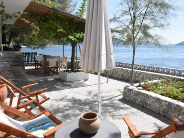 Beach front Villa for sale on Skopelos Island