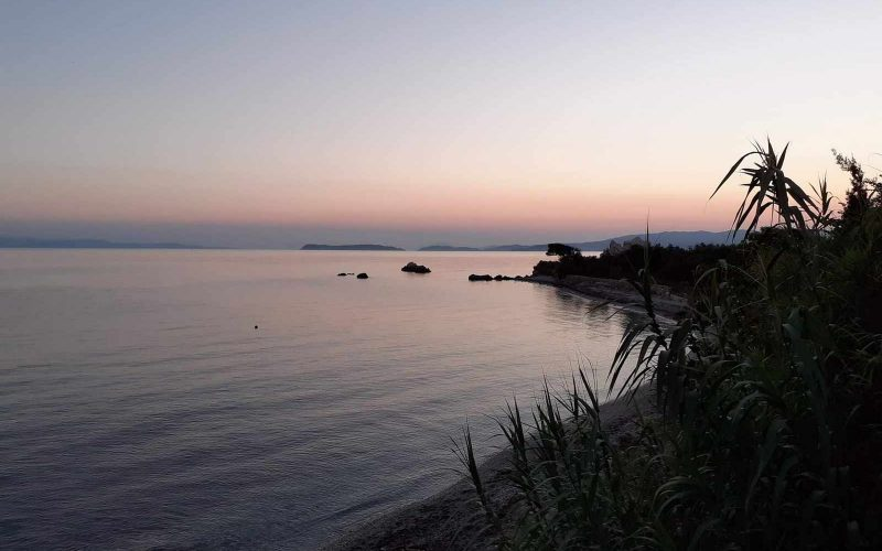 Beach front Villa for sale on Skopelos Island - The beach