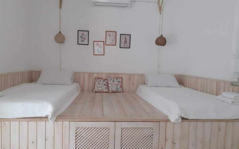 Beach front Villa for sale on Skopelos Island - Bedroom 3