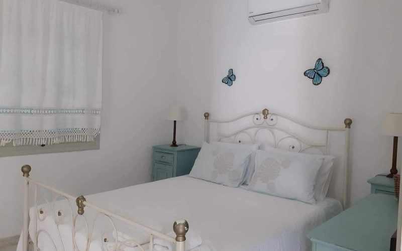Beach front Villa for sale on Skopelos Island - Bedroom 2