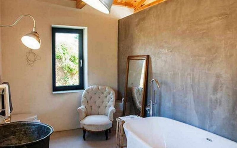 Complex of cottages with best views to the Aegean Sea Bathroom small cottage