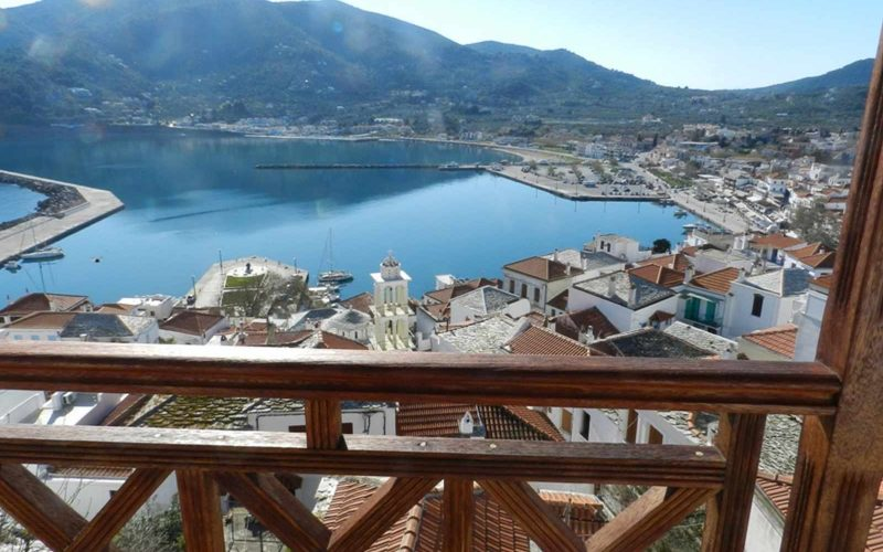 Skopelos Property with most spectacular views Balcony