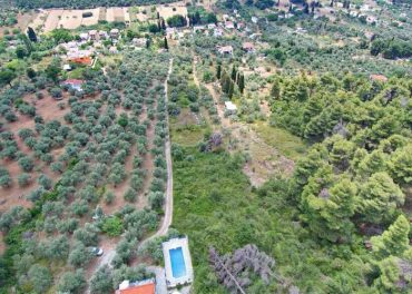 Buildable land in Stafilos area close to the beach