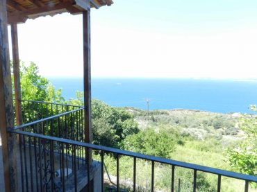 property in Glossa village with Sea views
