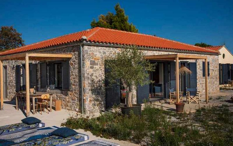 Complex of cottages with best views to the Aegean Sea Main Cottage