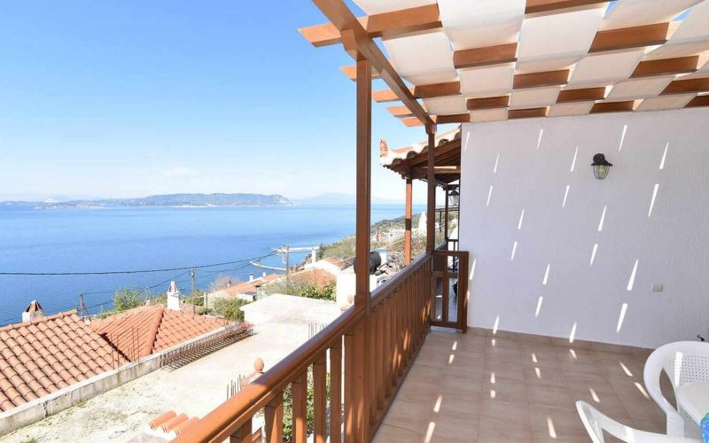 Property in Palaio Klima with Sea views The Terrace