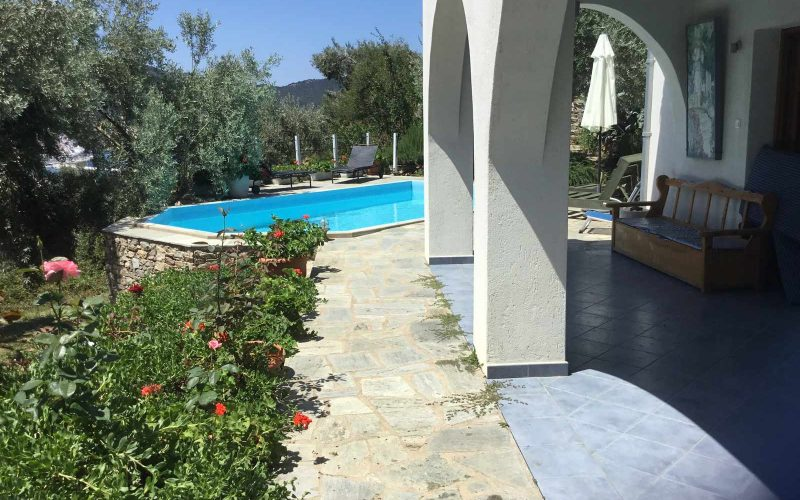Villa with Swimming pool close to Skopelos Town and port