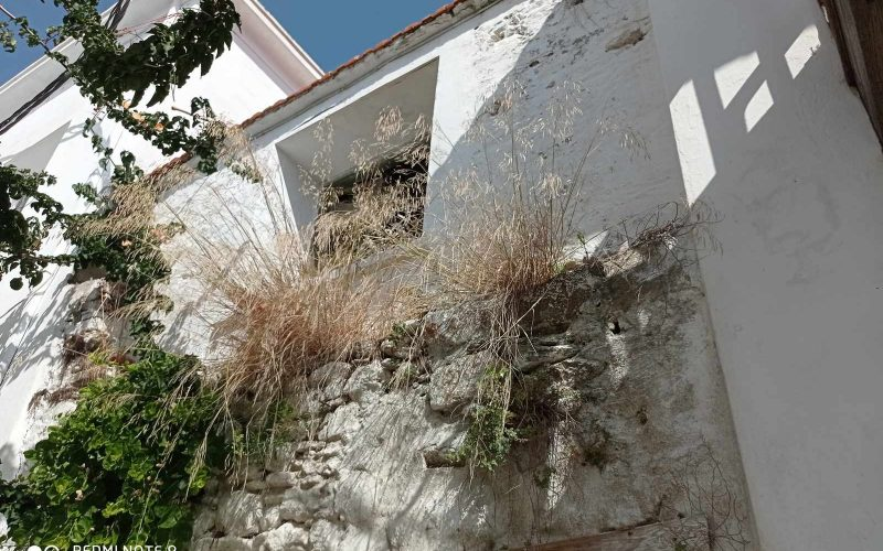 Traditional property in Skopelos Town with potential garden private garden
