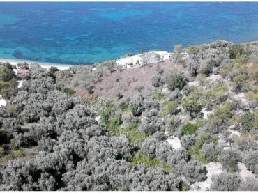 Plot close to Armenopetra beach with building permit