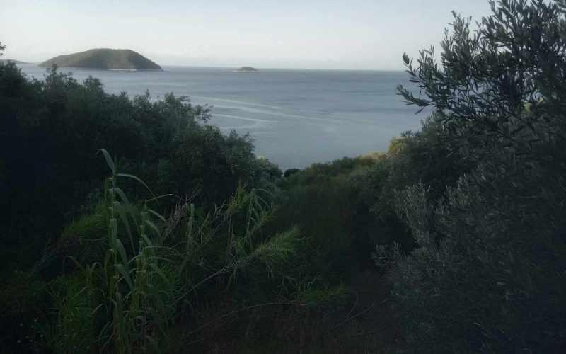 Plot with building permit close to Armenopetra beach Views