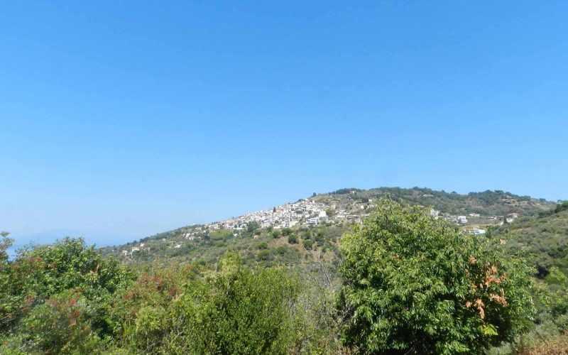 Plot near Glossa rea with views to the Sea - Glosssa village views