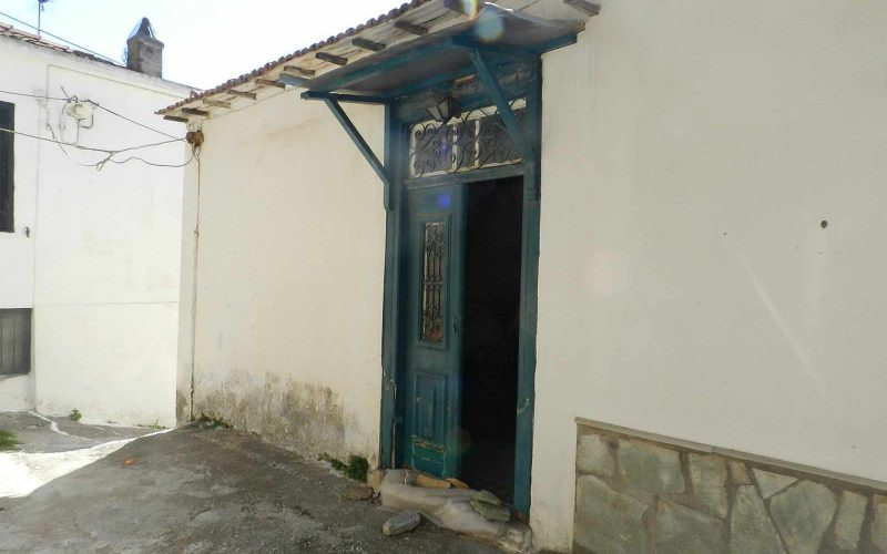 Traditional small house in Glossa village Second Entrance