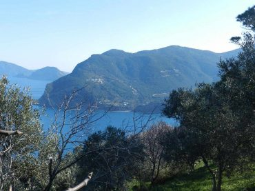 Plot with building permit and breathtaking views to the Aegean