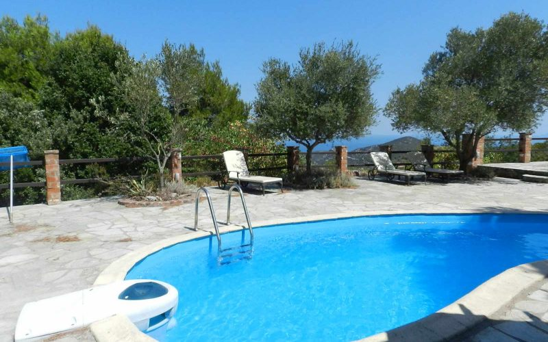 Stone made Villa with swimming pool and views The pool
