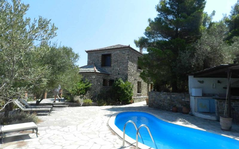 Stone made Villa with swimming pool and views