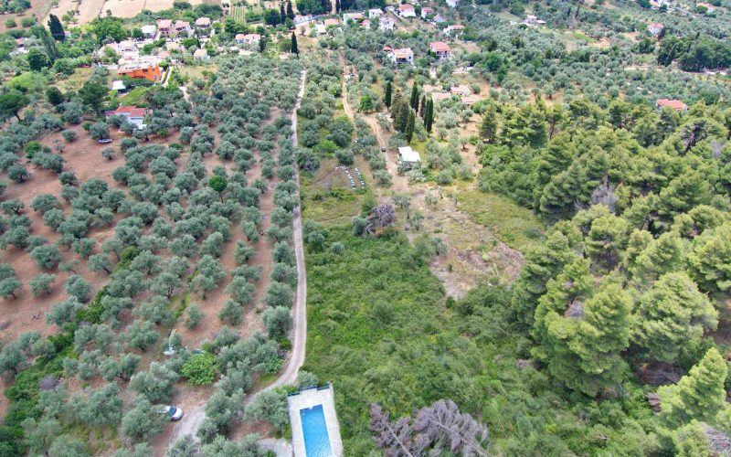 Buildable land close to Stafilos beach