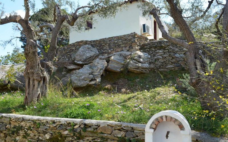 Villa with guest house close to Skopelos Town