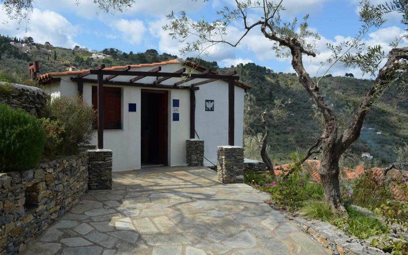 Villa with guest house close to Skopelos Town Guest house