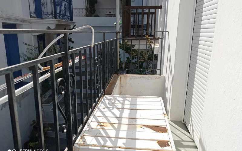Cozy Skopelos Town house with balcony Balcony