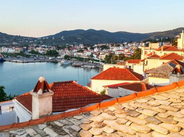 The Sea Glass house in Skopelos Town