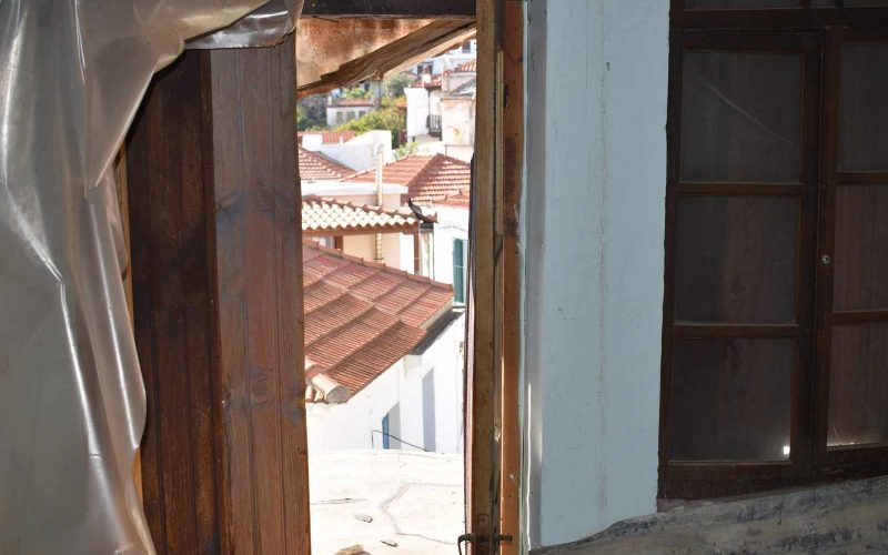 Traditional House inside Skopelos Town Views