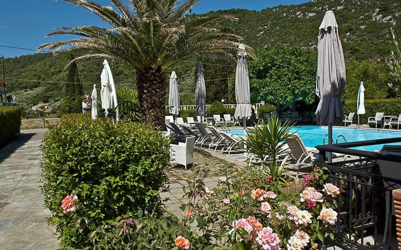 Hotel for Sale in Stafilos area on Skopelos Island - Gardens