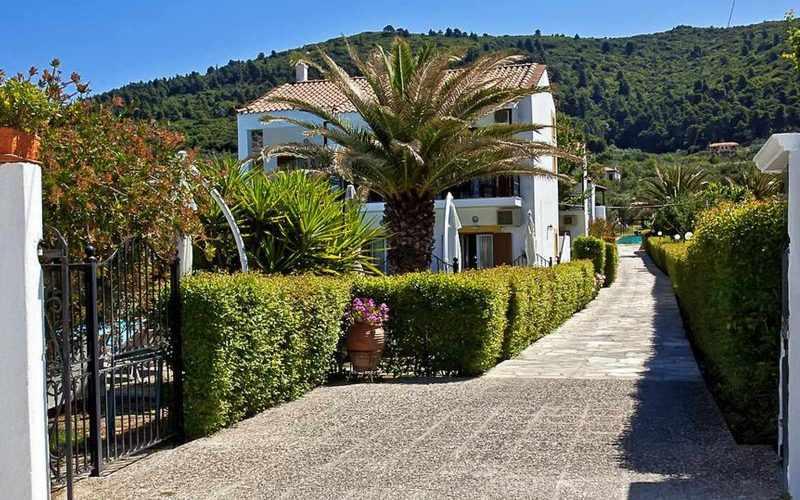 Hotel for Sale in Stafilos area on Skopelos Island - First Building