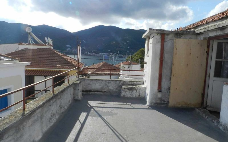 Spacious Traditional Skopelos Town's property Spacious Terrace