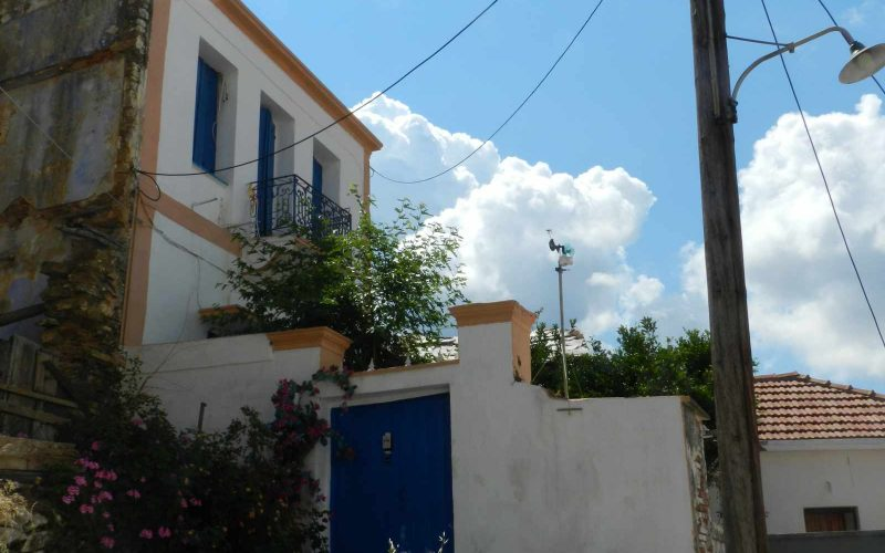 Two Town Houses both with yards inside Skopelos Town