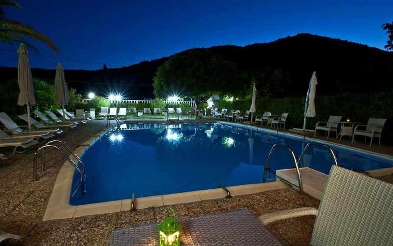 Hotel for Sale in Stafilos area on Skopelos Island - Swimming pool