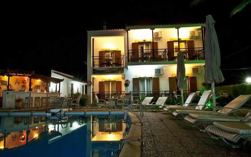 Hotel for Sale in Stafilos area on Skopelos Island - By night
