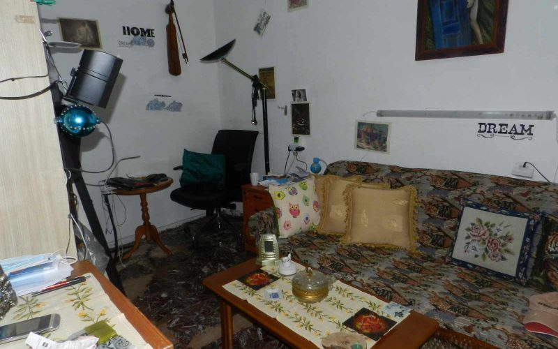 Two Town Houses both with yards inside Skopelos Town The ground floor room